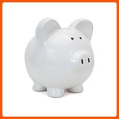 Child to Cherish Large Piggy Bank, White - Lovley creatures (*Amazon Partner-Link)