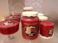 Red velvet- Yankee candle