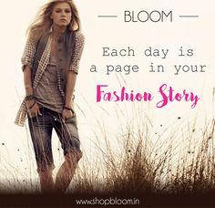 Fashion Quote of the day. #bloom #Delhi #Shopbloom #DelhiFashion #DlfSaket #DlfPromenade #DelhiShopping #Style #ShopTillYouDrop #Trendy #IndianFashion #DelhiMalls #Fashionable #Instamood #Dressitup #Popular #RetailTherapy #photooftheday #boutiquestore #ontrend #WeekendShopping #fall2015 #HolidayShopping #Comeonin