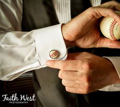 Baseball cufflinks were a home-run gift for a baseball-obsessed groom at Bryant Dewey Seasons Hotel Philadelphia. Philadelphia Hotels, Philadelphia Wedding, Baseball Jewelry, Wedding Groom, Wedding Rings, Corporate Photography, Elegant Man, Four Seasons Hotel, Video Photography