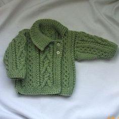 Deirdre Asymmetrical Cardigan for babies/toddlers PDF