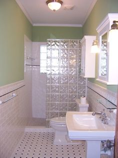 Tile Floor In 1940 Bathroom | Feel, I Remodeled A 1970u0027s Bathroom.