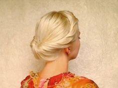 Vintage Easy Updos For Medium Hair - Medium Hair : VictorHugoHair.com ...