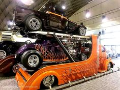Visit The MACHINE Shop Café... (Kool COE Show Car Hauler)