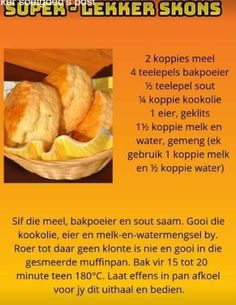 Baking Scones, Cake Baking, Kos, Scone Mix, Afternoon Tea Recipes, South African Recipes, Food Decoration, Alcohol Recipes, Biscuit Recipe