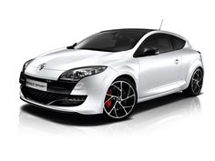 Renault Megane RS 250 Monaco Grand Prix Limited Edition (2011) – The #Renault Megane RS 250 Monaco Grand Prix Limited Edition packs a 2.0-liter turbocharged four producing 246 #horsepower, along with a glass roof, 19-inch alloys, red Brembo brake calipers and bi-xenon headlights. It only comes in pearlescent white, which contrasts nicely with the glossy black trim on the grille, side mirrors and rear diffuser – a theme continued inside with the black and white interior.