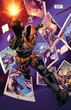 """Deathstroke v4 #1 - """"Among Thieves"""" (2016)"""