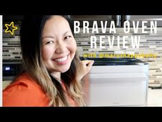 Brava Review- See how the oven works and what I cooked! Cooking Videos, First Time, It Works, Oven, Happy, Youtube, Ovens, Youtubers, Youtube Movies