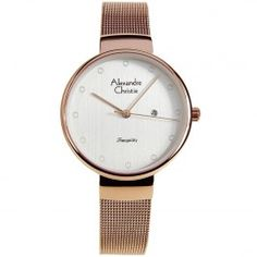 Alexandre Christie Tranquility Female Watch 2509LHBRGSL Ladies Watches, Casual Watches, Lady, Stuff To Buy, Accessories, Female, Store, Women, Woman Watches