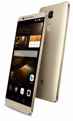 #Huawei Ascend #Mate_7 Gold Mobile Pictures