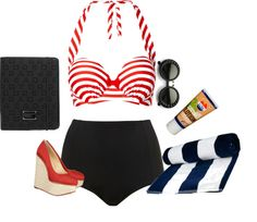 """""""day at the beach"""" by julia-maree on Polyvore"""