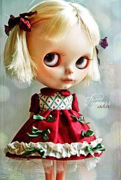 BLYTHE Dress Gâteau De Pistache By Odd Princess by oddprincess
