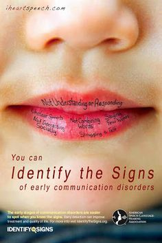 iHeartSpeech.com: you can Identify The Signs of early communication disorders