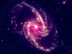 This image released by Arcetri Astrophysical Observatory, shows a supermassive black hole in the nearby spiral galaxy NGC 1365. A study published Thursday in the journal Nature calculated the spin rate of the black hole and found it's rotating close to the speed of light. (AP Photo/Guido Risaliti, Arcetri Astrophysical Observatory) via @AOL_Lifestyle Read more…