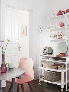 küche in mintgrün   interior design   pinterest   pastell, tes und ... - Pastell Küche