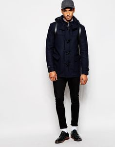 Hey guys, duffle coats are great way to winterize your look! That's the only coat that looks good on men whether you are 5, 15, 35, 55 or 85. Actually, duffle coat looks better on you with the age!
