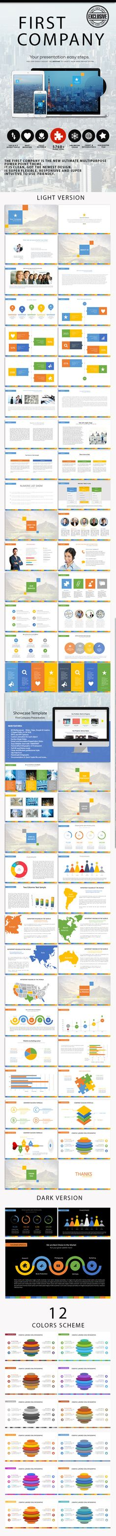 This free presentation template has a jolly, bold and lively - presentation template