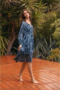 Ruffle Sleeve Dress, Resort Style, Johnny Was, Free Spirit, Elegant, Dresses, Women, Classy, Vestidos