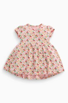 Buy Pink Ditsy Tunic (3mths-6yrs) from the Next UK online shop