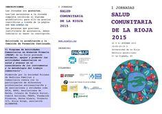 I Jornadas de Salud Comunitaria de La Rioja