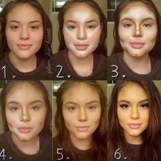 lincroyable puissance du maquillage rvl dans ces 23 photos davant aprs - Color Out Avant Apres