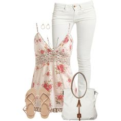 Floral Cami by daiscat    This is sooo me....!