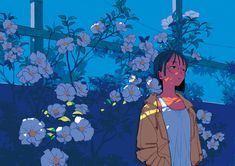 KANO NAKAJIMA WORKS 01 on Behance Pretty Art, Cute Art, Aesthetic Art, Aesthetic Anime, Manga Art, Anime Art, Japon Illustration, Animes Wallpapers, Art Inspo