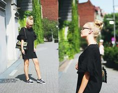 Get this look: http://lb.nu/look/8804333  More looks by Paulina Dworakowska: http://lb.nu/dvrkvska  Items in this look:  Zara Dress, Vans Shoes, Parfois  Bag   #classic #minimal #sporty #ootd #zara #vans #street #streetstyle #parfois