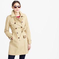 Petite icon trench coat