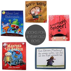 Friday Five: Books for 4 Year Old Boys - via http://exexp.at