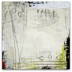 "dailyartjournal:    Susan Ukkola, ""Etching the Surface"", Encaustic"