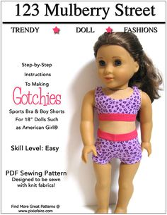 "Gotchies 18"" Doll Clothes"