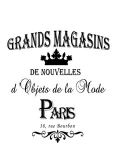 grand magasins
