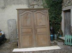 portes d'armoire, porte ancienne, porte d'intérieur