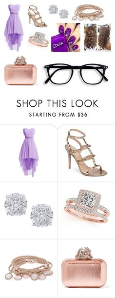 """""""Shout out to my ex"""" by holyroller-89 ❤ liked on Polyvore featuring Valentino, Effy Jewelry, Allurez, Marjana von Berlepsch and Jimmy Choo"""