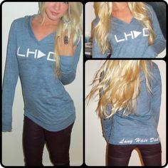LHDC hoodie!  #longhairdontcare #lhdc