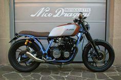 YAMAHA XJ650 Brat Style by NICO DRAGONI MOTOCICLETTE #motorcycles #bratstyle #motos | caferacerpasion.com