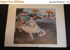 Summer Sun Sale The Dancer and The Bouquet by Degas  22