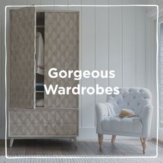 Will hang about for decades. If not centuries. Wooden Bedroom, Bedroom Furniture, Vintage Armoire, Kids Wardrobe, Bees Knees, Wardrobes, Contemporary Style, Craftsman, Wicked