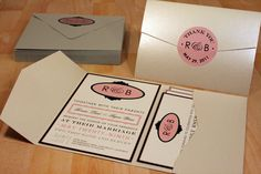 This beautiful invitation collection is inspired by a vintage playbill. The playful wording is shown in three different font styles. The wedding date, Chalkboard Wedding Invitations, Art Deco Wedding Invitations, Handmade Invitations, Create Invitations, Invitation Paper, Wedding Stationery, Invitation Ideas, The Wedding Date, Movie Wedding