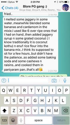 Banana uniyappams Rice Flour, Banana, Bananas, Fanny Pack