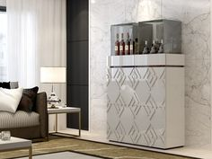 Meuble bar. Mod. ROMA Divider, Furniture, Home Decor, Solid Wood, Drawers, Rome, Interior Design, Home Interior Design, Arredamento