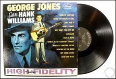George JonesSalutes Hank WilliamsMercury Records, MG 20596, 1960
