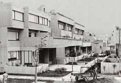 giorgio casali - giardino (foto 1974), villaggio matteotti