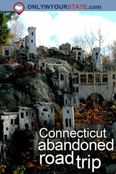 Take A Thrilling Road Trip To The 5 Most Abandoned Places In Connecticut - Take A Thrilling Road Trip To The 5 Most Abandoned Places In Connecticut Travel Haunted Places, Abandoned Places, Abandoned Castles, Abandoned Buildings, Haunted Houses, Abandoned Mansions, Places To Travel, Travel Destinations, Places To Visit