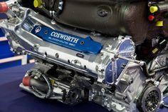 f1 engines?   Cosworth CA2010 F1 race engine - BLOODHOUND SSC 3