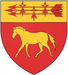 Tréméoc House Sigil, Ville France, Crests, The Witcher, Coat Of Arms, Symbols, Mafia, Flags, Animals