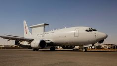 A Royal Australian Airforce E-7A Wedgetail Airborne Early Warning and Command Aircraft currently on operations in Iraq