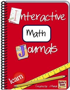Interactive Math Journal - 165 page resource of interactive math journal activities - common core aligned  $
