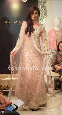 Karachista: Faraz Manan brings his Nawabi collection to Karachi Pakistani Wedding Dresses, Pakistani Bridal, Pakistani Outfits, Indian Dresses, Indian Outfits, Pakistani Couture, Indian Couture, Bridal Outfits, Bridal Dresses